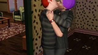 Sims 3 Boys Kiss