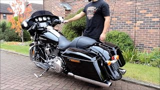 """2017 Harley Davidson - 107"""" Milwaukee Eight 8 - Street Glide Special - Stock Pipes"""