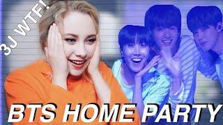 3J (Jungkook, Jimin, J-Hope) Dance Reaction | BTS HOME PARTY