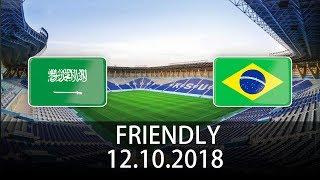 Saudi Arabia vs Brazil - International Friendly - PES 2019