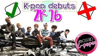 ¡MEJORES y PEORES debuts del K-pop 2016! ☞ Calificando debuts 2.0 ☜