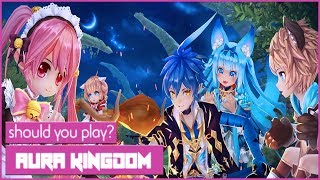 Is Aura Kingdom Worth Playing In 2018? An MMORPG Aura Kingdom Review!