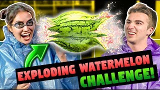 WATERMELON CHALLENGE! (ft. FBE React Cast)
