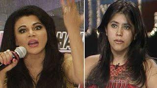 Shocking ! Rakhi Sawant takes a dig at Ekta Kapoor
