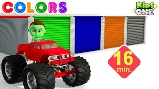 GREENY KIDDO Drive Colorful Trucks   Play and Learn COLORS for Children - KidsOne