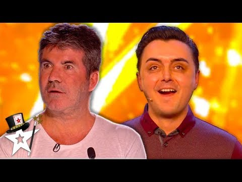 Golden Buzzer Magician Leaves Judges In Tears After Emotional Audition On Britain s Got Talent 2018