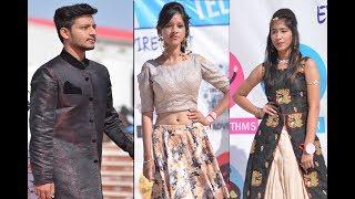 Mr & Ms Inspire 2017  | Fashion Show Ramp Walk at RNB Global University