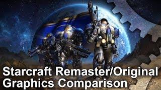 Starcraft Remastered vs Original Graphics Comparison