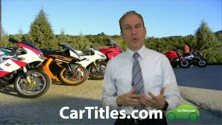 How do you get a title for a motorcycle?   AFX