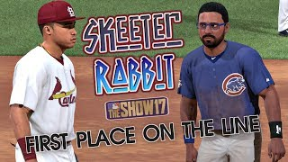 MLB The Show 17 Skeeter Rabbit Road To The Show (CF) EP88 First Place On The Line! MLB 17