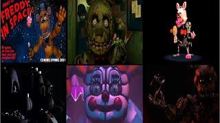 Todos los trailers de Five nights at Freddy's (1,2,3,4,57,W,SL)
