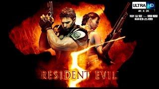 RESIDENT EVIL 5 Pelicula Completa Español UHD Full Movie | Resident Evil 5 Remastered (Game Movie)