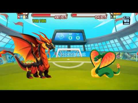 Dragon City All World Cup Battles Ney Dragon Quest