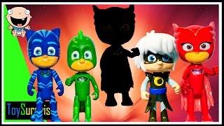 pj masks en español capitulos completos Toysurprise. Episodio de juego de sombras. video para niños