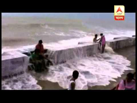 Hudhud: Digha sea becomes turbulent