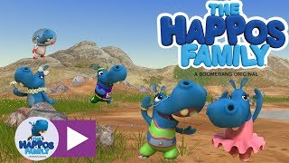 Happos Cartoon Compilation 3 for kids I The Happos Family (Full episodes)