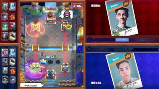 Clash Royale: Berin vs Royal Tiebreaker Match - Crown Championship Top 8 (EU, Week Three)