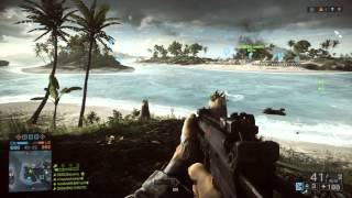 """Battlefield 4 (BF4) """"PARACEL STORM"""" - 64 Player Xbox One Gameplay (Conquest) HD 1080p"""