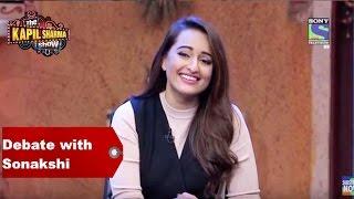 The Kapil Sharma Show - Debate with Akira Sonakshi Sinha