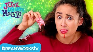 Ripping Off Your Tongue Trick | JUNK DRAWER MAGIC