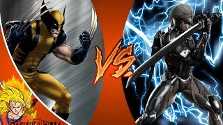 Wolverine VS Raiden _ DEATH BATTLE! REACTION!!!