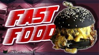 Probando FAST FOOD en TAILANDIA! - Mercados nocturnos