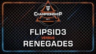 Flipsid3 Tactics vs Renegades - Rocket League Championship - DreamHack Atlanta 2017