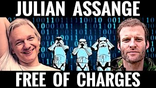 Julian Assange FREE Of Charges, But What