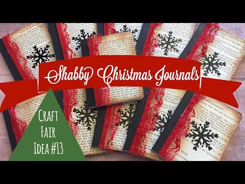 Xxx Mp4 Craft Fair Idea 13 Shabby Christmas Pocket Journals 2017 3gp Sex