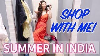 SUMMER IN INDIA SHOPPING FOREVER 21 | TRAVEL VLOG IV