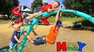 Strawberry Picking, Park & Horses || Mommy Monday