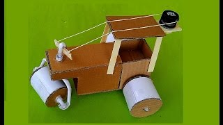 How to Make a Road Roller - Awesome  Road Roller - sdik rof
