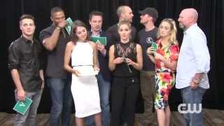 Arrow Cast | Fan Q&A Part 1 | Comic Con 2014