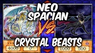Yugioh NEO SPACIANS vs CRYSTAL BEASTS (Yugioh Fun Decks)