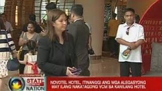 SONA: Novo Hotel, itinanggi ang mga alegasyong may ilang nakatagong VCM sa kanilang hotel