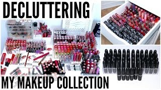 Decluttering My Makeup Collection 2016 | Lipsticks, Lip Glosses & Lip Liners