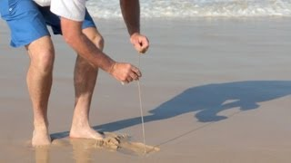 How to Catch beach worms for bait | The Hook and The Cook