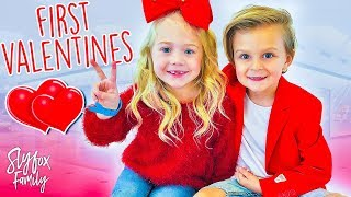 Caspian and Everleigh's First Valentine Date!! ❤️ | Slyfox Family