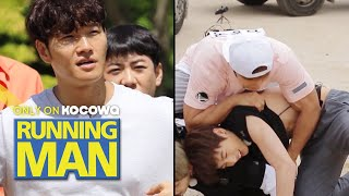 "Jong Kook ""Jung Kook's Fans Liked It! Because I Took Off Him Shirt"" [Running Man Ep 452]"