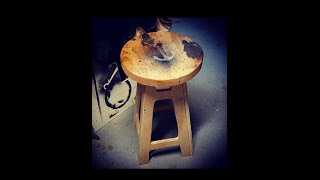 DC. Shop stool with scrap ply wood
