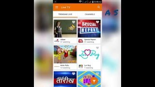 Free Live TV For Android (YuppTv For Android)