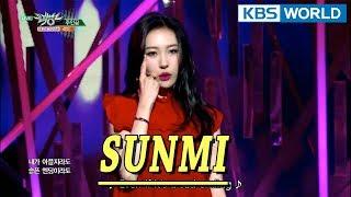 SUNMI - Heroine   선미 - 주인공 [Music Bank COMEBACK / 2018.01.19]