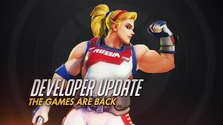 Developer Update   The Games Are Back!   Overwatch