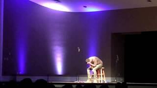 Loud sneeze at John Crist Comedy show