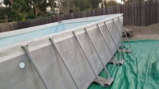Intex pool 12 X 24 X 52 high going on 5 years