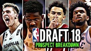 2018 NBA Draft Prospect Breakdown Part I: Bagley * Doncic * Ayton