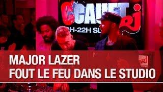 Major Lazer fout le feu dans le studio - C'Cauet sur NRJ