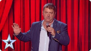 Nick Page Will Have You ROARING With Laughter At The Semi's! | Semi-Finals | BGT 2018
