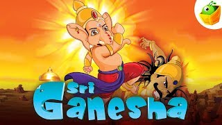 Sri Ganesha | Full Movie (HD) | Animated Movie | English Stories for Kids