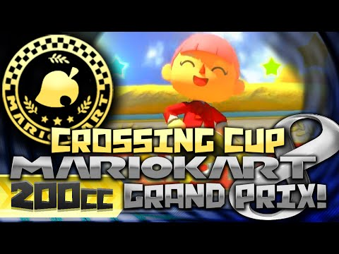 Mario Kart 8 (60fps) - 200cc! - Crossing Cup w/ Female Villager & P-Wing w/ PKSparkxx! (DLC Pack 2)